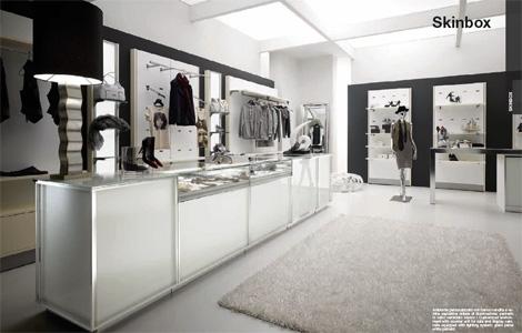 arredamento negozi abbigliamento - sinthesi s.r.l. - Arredamento Per Negozio Di Abbigliamento