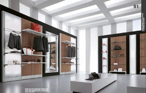 Arredamento negozi calzature e articoli sportivi for Sifa arredamenti