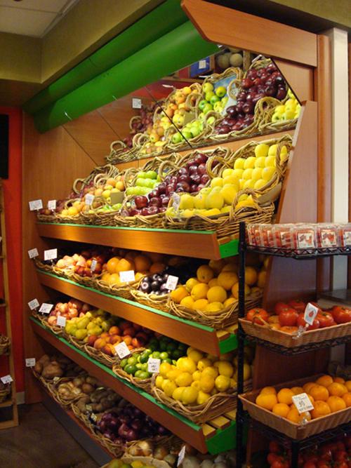 Arredo negozi alimentari sinthesi s r l for Arredamento frutta e verdura